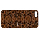 DAMASK2 BLACK MARBLE & RUSTED METAL (R) Apple iPhone 5 Hardshell Case with Stand View1