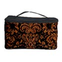 DAMASK2 BLACK MARBLE & RUSTED METAL (R) Cosmetic Storage Case View1