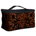 DAMASK2 BLACK MARBLE & RUSTED METAL (R) Cosmetic Storage Case View2