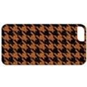 HOUNDSTOOTH1 BLACK MARBLE & RUSTED METAL Apple iPhone 5 Classic Hardshell Case View1