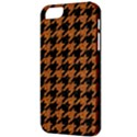 HOUNDSTOOTH1 BLACK MARBLE & RUSTED METAL Apple iPhone 5 Classic Hardshell Case View3
