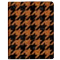 HOUNDSTOOTH1 BLACK MARBLE & RUSTED METAL Apple iPad 2 Flip Case View1