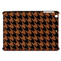 HOUNDSTOOTH1 BLACK MARBLE & RUSTED METAL Apple iPad Mini Hardshell Case View1
