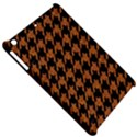 HOUNDSTOOTH1 BLACK MARBLE & RUSTED METAL Apple iPad Mini Hardshell Case View5