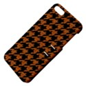 HOUNDSTOOTH1 BLACK MARBLE & RUSTED METAL Apple iPhone 5 Hardshell Case with Stand View4