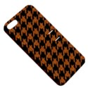 HOUNDSTOOTH1 BLACK MARBLE & RUSTED METAL Apple iPhone 5 Hardshell Case with Stand View5
