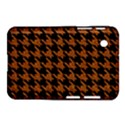 HOUNDSTOOTH1 BLACK MARBLE & RUSTED METAL Samsung Galaxy Tab 2 (7 ) P3100 Hardshell Case  View1