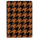 HOUNDSTOOTH1 BLACK MARBLE & RUSTED METAL iPad Air Flip View1