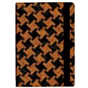 HOUNDSTOOTH2 BLACK MARBLE & RUSTED METAL iPad Mini 2 Flip Cases View2