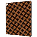 HOUNDSTOOTH2 BLACK MARBLE & RUSTED METAL Apple iPad Pro 12.9   Hardshell Case View3