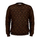 HEXAGON1 BLACK MARBLE & RUSTED METAL (R) Men s Sweatshirt View1