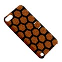 HEXAGON2 BLACK MARBLE & RUSTED METAL Apple iPod Touch 5 Hardshell Case with Stand View5