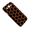 HEXAGON2 BLACK MARBLE & RUSTED METAL (R) Samsung Galaxy Mega 5.8 I9152 Hardshell Case  View5