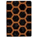 HEXAGON2 BLACK MARBLE & RUSTED METAL (R) Apple iPad Pro 10.5   Flip Case View1