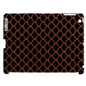 SCALES1 BLACK MARBLE & RUSTED METAL (R) Apple iPad 3/4 Hardshell Case (Compatible with Smart Cover) View1