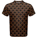 SCALES2 BLACK MARBLE & RUSTED METAL (R) Men s Cotton Tee View1