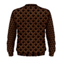 SCALES2 BLACK MARBLE & RUSTED METAL (R) Men s Sweatshirt View2