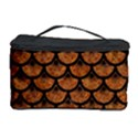 SCALES3 BLACK MARBLE & RUSTED METAL Cosmetic Storage Case View1