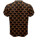 SCALES3 BLACK MARBLE & RUSTED METAL (R) Men s Cotton Tee View2