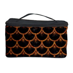 SCALES3 BLACK MARBLE & RUSTED METAL (R) Cosmetic Storage Case