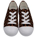 SCALES3 BLACK MARBLE & RUSTED METAL (R) Kids  Low Top Canvas Sneakers View1
