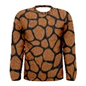SKIN1 BLACK MARBLE & RUSTED METAL (R) Men s Long Sleeve Tee View1