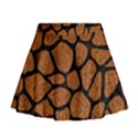 SKIN1 BLACK MARBLE & RUSTED METAL (R) Mini Flare Skirt View1