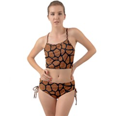 Skin1 Black Marble & Rusted Metal (r) Mini Tank Bikini Set by trendistuff