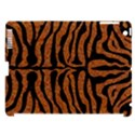 SKIN2 BLACK MARBLE & RUSTED METAL Apple iPad 3/4 Hardshell Case (Compatible with Smart Cover) View1