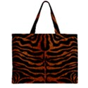 SKIN2 BLACK MARBLE & RUSTED METAL (R) Zipper Mini Tote Bag View1