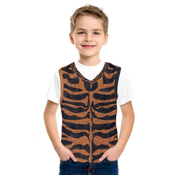 SKIN2 BLACK MARBLE & RUSTED METAL (R) Kids  SportsWear