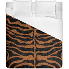 Skin2 Black Marble & Rusted Metal (r) Duvet Cover (california King Size) by trendistuff