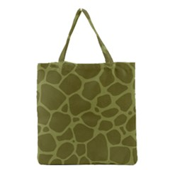 Autumn Animal Print 1 Grocery Tote Bag by tarastyle