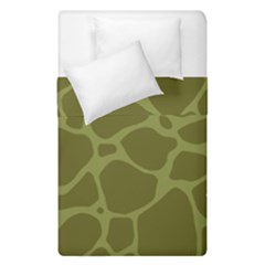 Autumn Animal Print 1 Duvet Cover Double Side (single Size) by tarastyle