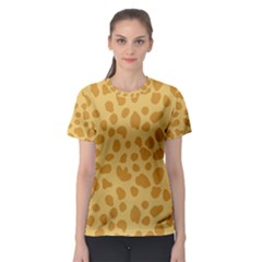 Autumn Animal Print 2 Women s Sport Mesh Tee by tarastyle