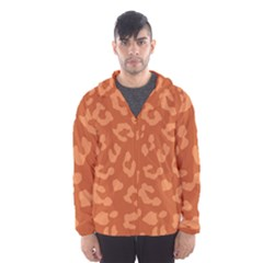Autumn Animal Print 3 Hooded Wind Breaker (men)