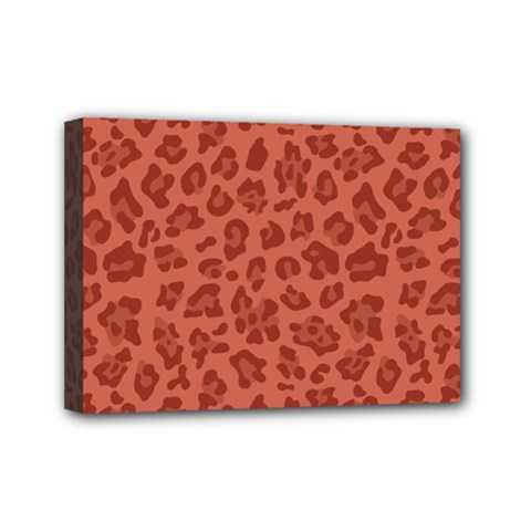 Autumn Animal Print 4 Mini Canvas 7  X 5  by tarastyle