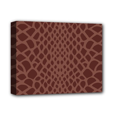 Autumn Animal Print 5 Deluxe Canvas 14  X 11  by tarastyle