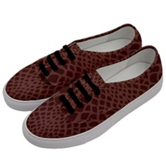 Autumn Animal Print 5 Men s Classic Low Top Sneakers by tarastyle