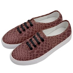 Autumn Animal Print 5 Women s Classic Low Top Sneakers by tarastyle