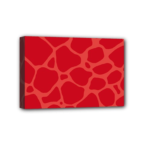 Autumn Animal Print 6 Mini Canvas 6  X 4  by tarastyle