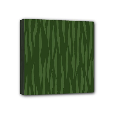 Autumn Animal Print 7 Mini Canvas 4  X 4  by tarastyle