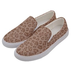 Autumn Animal Print 9 Men s Canvas Slip Ons by tarastyle