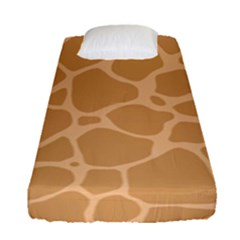 Autumn Animal Print 10 Fitted Sheet (Single Size)