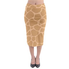 Autumn Animal Print 10 Midi Pencil Skirt by tarastyle