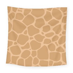 Autumn Animal Print 10 Square Tapestry (large)