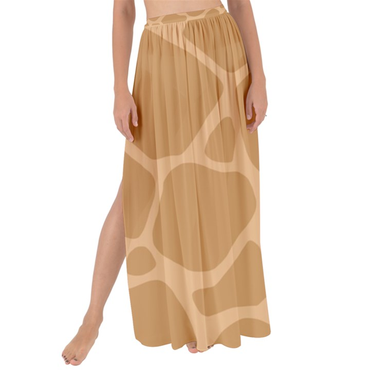 Autumn Animal Print 10 Maxi Chiffon Tie-Up Sarong