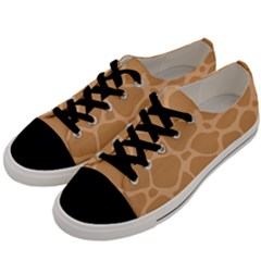 Autumn Animal Print 10 Men s Low Top Canvas Sneakers by tarastyle