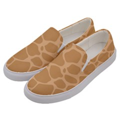 Autumn Animal Print 10 Men s Canvas Slip Ons by tarastyle