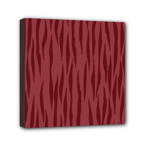 Autumn Animal Print 12 Mini Canvas 6  X 6  by tarastyle